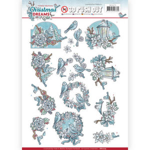 SB10275 Stansvel Yvonne Creations Christmas Dreams - Birds