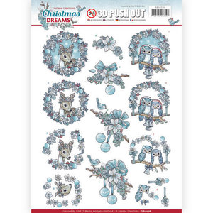 SB10276 Stansvel Yvonne Creations Christmas Dreams - Animals