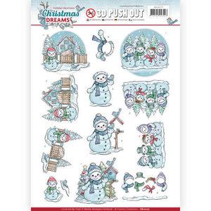 SB10277 Stansvel Yvonne Creations Christmas Dreams - Snowman