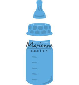 LR0575 Creatables snijmal Baby Bottle