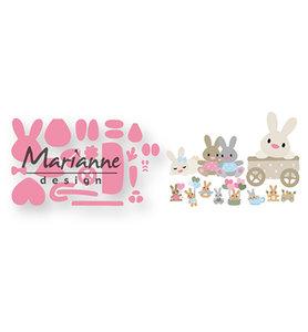 COL1463 Collectables snijmallen Eline's baby bunny