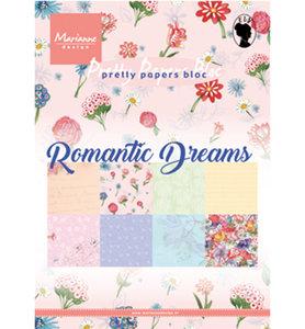 PK9160 Pretty Papers Bloc Romantic Dreams