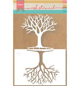 PS8025 Mask stencil Tree