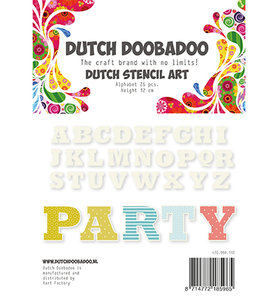 470.990.112 Dutch Doobadoo  Alphabet 4