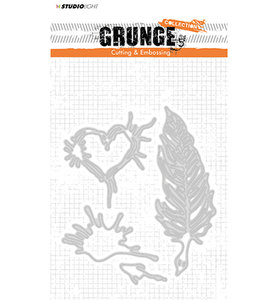 STENCILSL177 - Cutting and Embossing Die, Grunge Collection 2.0, nr.177