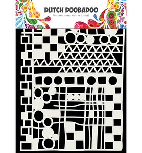 470.715.137 Dutch Doobadoo Mask Art Geo mix