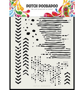 470.715.136 Dutch Doobadoo Mask Art Grunge mix