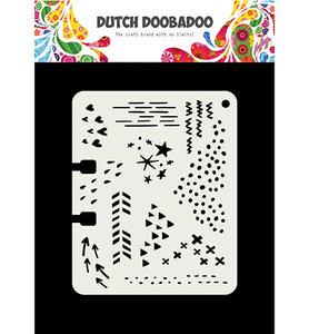 470.715.901 Dutch Doobadoo Mask Art Rollerdex Doodle Mix
