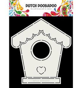 470.713.710 Dutch Doobadoo Card art Birdhouse