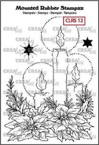 Crealies Mounted Rubber Stampzz no. 12 kaarsen CLRS12 93