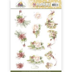 SB10353 3D Pushout Precious Marieke Blooming Summer - Sweet Flowers