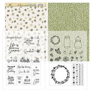 PMCC1001 Mica Sheets - Precious Marieke - Blooming Summer