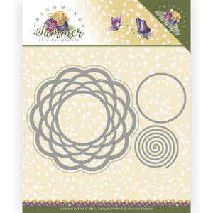 PM10152 Snijmal Precious Marieke Blooming Summer - Braided Circle