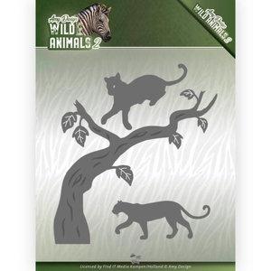 ADD10175 Snijmal Amy Design Wild Animals 2 - Panther