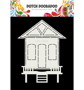 470.713.719 Dutch Doobadoo Card Art Huisje 2 delig