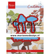 LR0623 Creatables snijmallen Tiny's Mushrooms