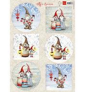 HK1707 Knipvel Hetty's Winter gnomes