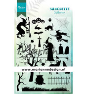 CS1039 Clearstamps  Silhouette Halloween