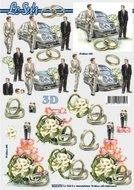 8215474 3D knipvel huwelijk