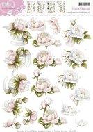 CD10470 3D Knipvel Precious Marieke  Romance Peony