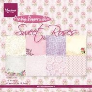 PK9123 Pretty Papers Bloc Sweet Roses
