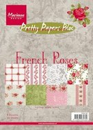 PK9106 pretty papers bloc French Roses