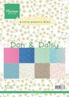 PK9107 Pretty Papers Bloc Don en Daisy