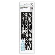 Xcut snijmal alfabet