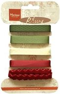 JU0951 Assortiment Victorian Chrismas Ribbons