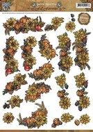 CD10558 3D-knipvel Yvonne Creations Fall Favourites Seasonal Fruit