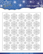 PMEMB10006 Embossing Folder - Precious Marieke - Winter Wonderland