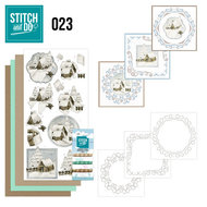 STDO023 Stitch and Do 23 - Snow Cabins
