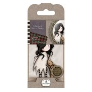 GOR 907308 Gorjuss Mini Rubber Stamp - Santoro - No. 8  I Love You Little Rabbit