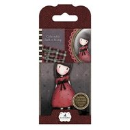 GOR 907315 Mini Rubber Stamp - Santoro - No. 15 The Black Star