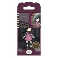 GOR 907313 Mini Rubber Stamp - Santoro - No. 13 Fairy Lights