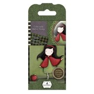 GOR 907314 Mini Rubber Stamp - Gorjuss - No. 14 Little Red