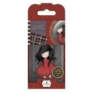 GOR 907318 Mini Rubber Stamp - Gorjuss- No. 18 Poppy Wood