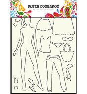 470.715.803 Dutch Doobadoo Mask Art Dress up Doll