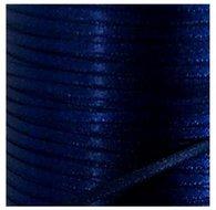 814008 Marineblauw satijnlint 3 mm