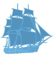 LR0416 Creatables snijmal Tiny's tall Ship