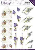 CD10668 Knipvel Flowery Gift Precious Marieke