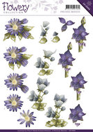 CD10669 Knipvel Mixed Flowers Flowery Collection Precious Marieke