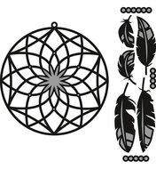 CR1373 Craftables snijmallen Dreamcatcher Marianne Design