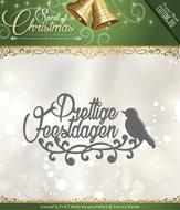 PM10072 Snijmal Prettige Feestdagen Spirit of Christmas Precious Marieke