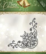 PM10071 Snijmal Snowflake Corner Spirit of Christmas Precious Marieke