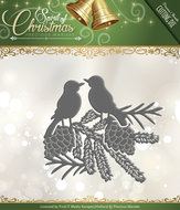 PM10070 Snijmal Spirited Birds - Spirit of Christmas Precious Marieke