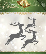 PM10069 Snijmal Spirited Reindeer Precious marieke