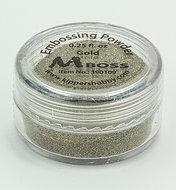 390109 MBoss embossingpowder Gold