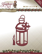 ADD10070 Snijmal Lantern Christmas Greetings Amy Design