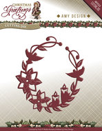 ADD10068 Snijmal Ornament Christmas Greetings Amy Design